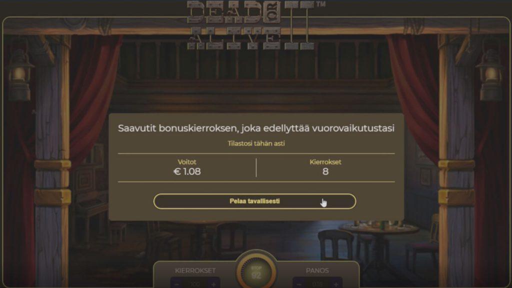 dead or alive slotti bonus blitz