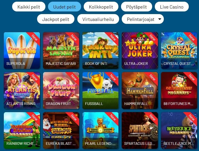 refuel casinon pelit