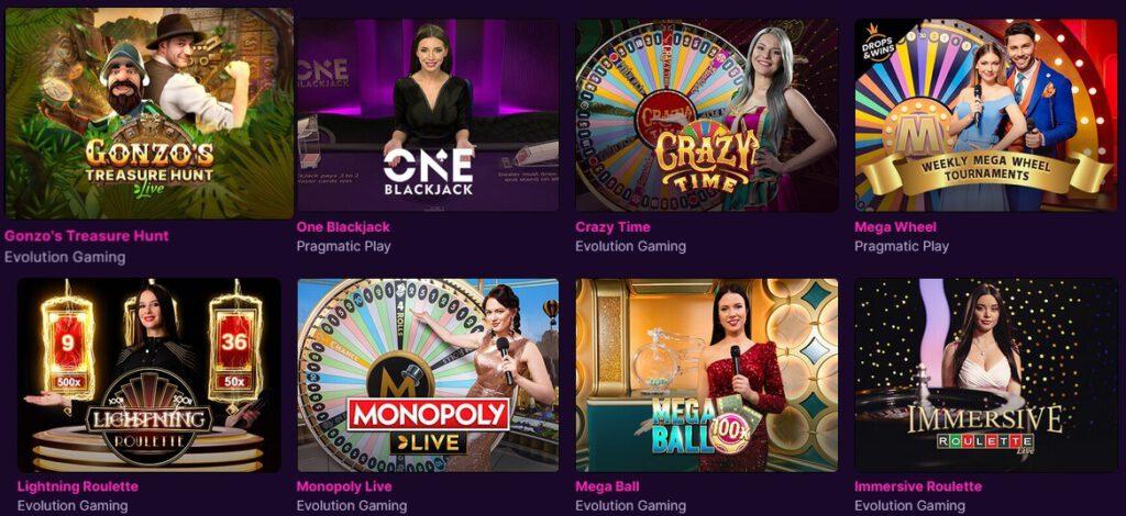 kanuuna casinon livepelit